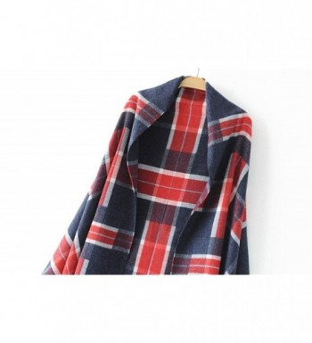 FFLMYUHULIU Comfort Blanket Checked 0776 03