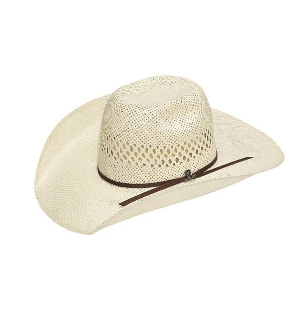 Ariat Men's Twisted Weave Dry Tech Hat - Natural - C217YQWAEL6