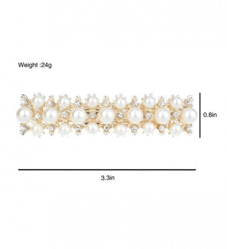 IPINK Rhinestone Crystal Barrette Accessories