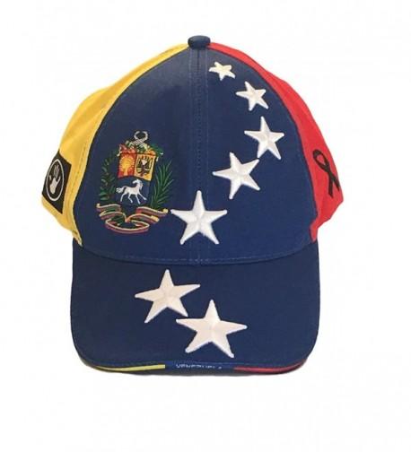 7 Stars Hat Venezuela Flag Estudiantes Heroes 7 Estrellas Bandera de Venezuela - CA184QOCI3N