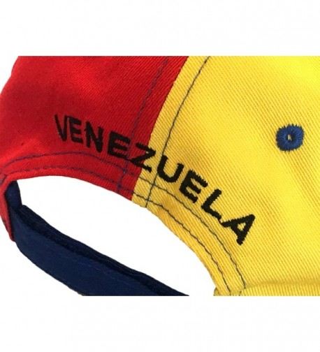 Venezuela Estudiantes Heroes Estrellas Bandera in Men's Baseball Caps