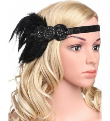 BABEYOND Flapper Headpiece Headband Accessories