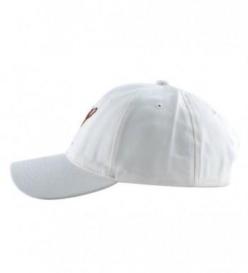 KISSBAOBEI Cotton Embroidery Baseball White Dog