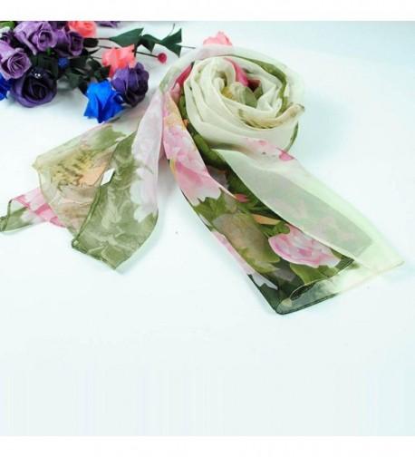 Deamyth Chiffon Scarves Printing Headscarf in Fashion Scarves