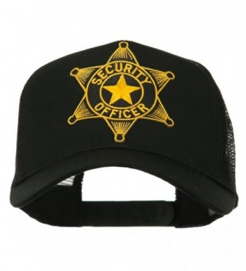 Security Officer Star Patched Mesh