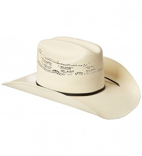 Twister Men's Painted Bangora Maverick Cowboy Hat - Natural - C81111DI9LC