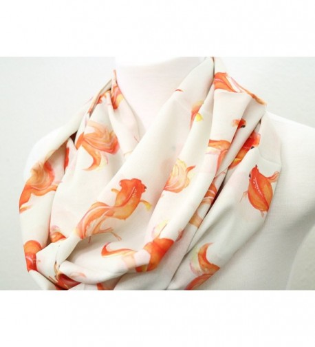 Goldfish infinity Birthday anniversary present in Fashion Scarves