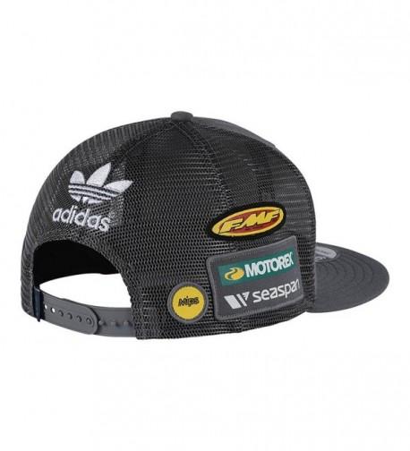 Troy Lee Designs Snapback Hat Charcoal