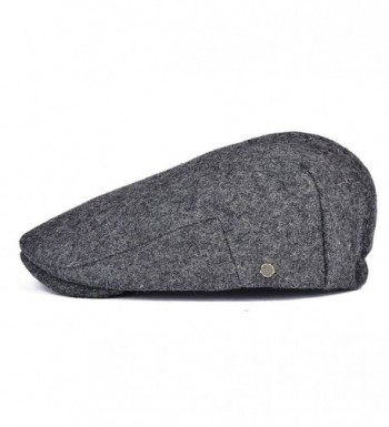 VOBOOM Weather Adjustable Stretch 187 Grey in Men's Newsboy Caps