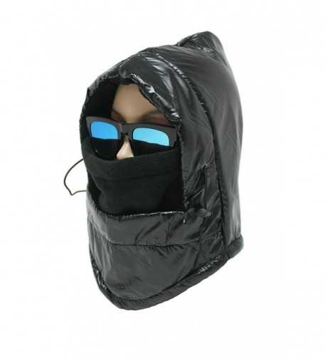 Dzhavael Unisex Balaclava Ski Mask Winter Neck Warmer Wind Stopper Hat - Black - CZ12OBORYXP