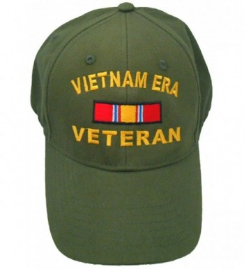 Vietnam ERA Veteran Cap w/ Bumper Sticker OD Green Hat Army Navy Air Force Marine - CG186CRZ8Y7