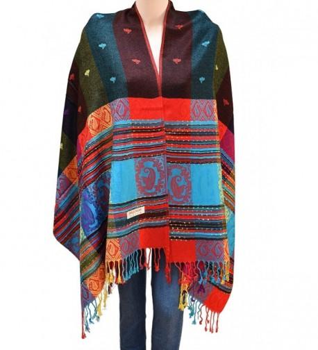 Flyingeagle Trade Rainbow Colorful Pashmina