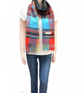 Flyingeagle Trade Rainbow Colorful Pashmina in Wraps & Pashminas