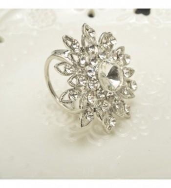 CHUYUN Elegant Rhinestone Metallic Fashionable