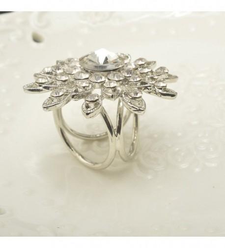 CHUYUN Elegant Rhinestone Metallic Fashionable in Fashion Scarves