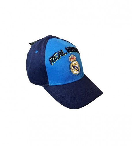 Real Madrid Fc Adjustable CAP Hat - Navy Blue - CS12KNBAGD7