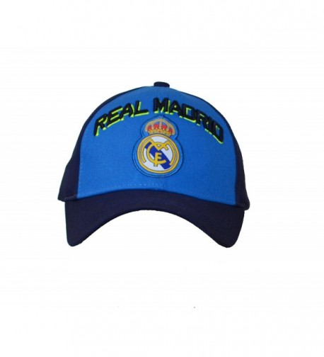 Real Madrid Adjustable Navy blue in Men's Baseball Caps