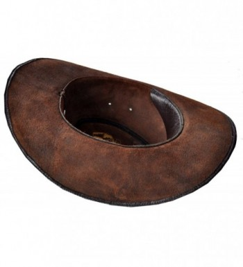 Western Style Handmade Leather Brown
