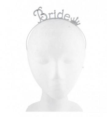 Lux Accessories Rhinestone Bachelorette Headband