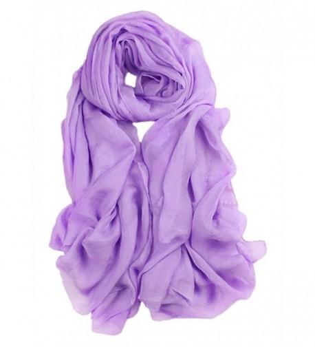 Spikerking Solid seasons scarves Violet