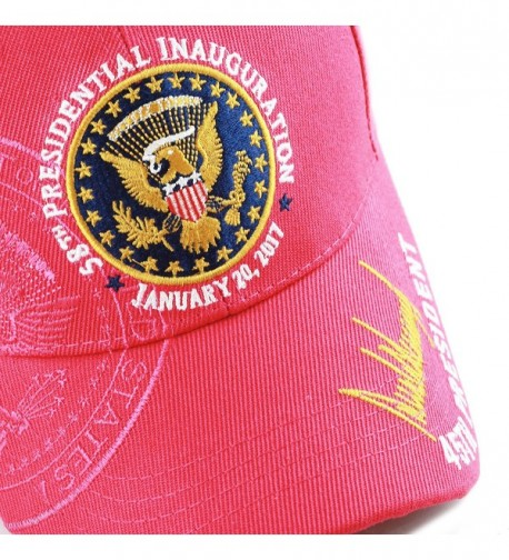 HAT DEPOT Exclusive Presidential Inauguration in Women's Baseball Caps