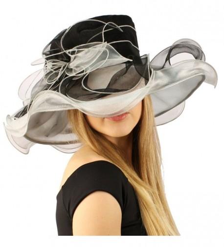 Kentucky Floppy Ruffle Organza Hat