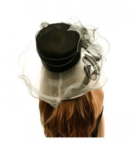 Kentucky Floppy Ruffle Organza Hat in Women's Sun Hats