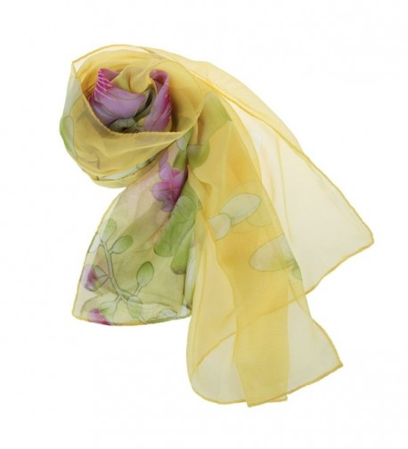 ChikaMika Scarves Floral Shawls Fashion in Fashion Scarves