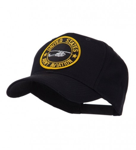 Army Circular Shape Embroidered Military Patch Cap - Aviation - CZ11FETELRR