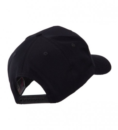 Circular Shape Embroidered Military Patch in Men's Baseball Caps