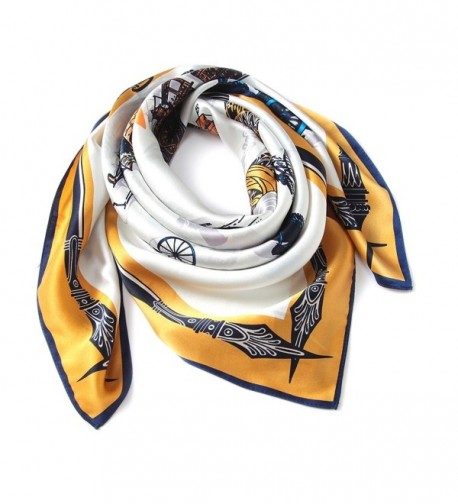 blackmogoo Neckerchief Wrapping HeadScarf Headdress in Fashion Scarves