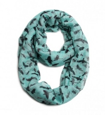 Scarfand's Animal Print Infinity Scarves - Eagle Blue - CQ11KMTMF45