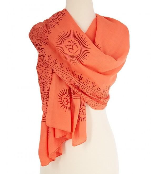 OMSutra OM Prayer Shawls - Orange - C7110YG655V