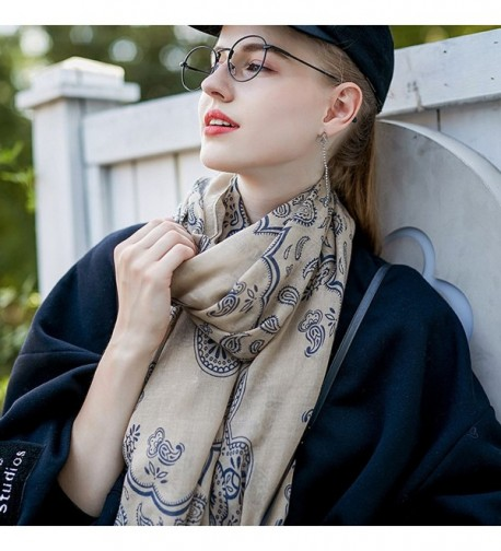 GERINLY Womens Scarves Fashion Paisley