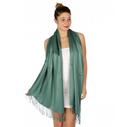 SERENITA Large Density Pashmina Forest in Fashion Scarves