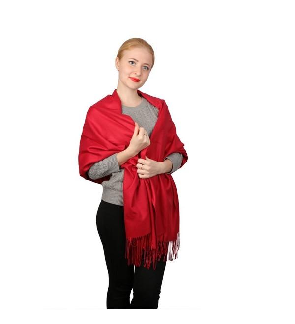 Hanmorstar Cashmere Infinity Pashmina Fashion - C81899TWWCH