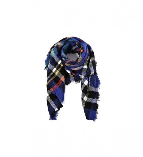Spring fever Colorful Checked Blanket