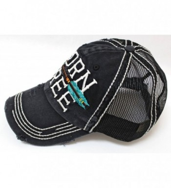 Black Born Free Vintage Trucker