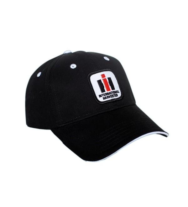 International Harvester IH Logo Hat- black with white accents - CX12CDF8XQT