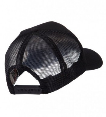 ETC Embroidered Military Patched Mesh in Men's Baseball Caps
