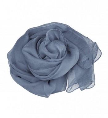 Scarf Women Chiffon Lightweight Color Gray