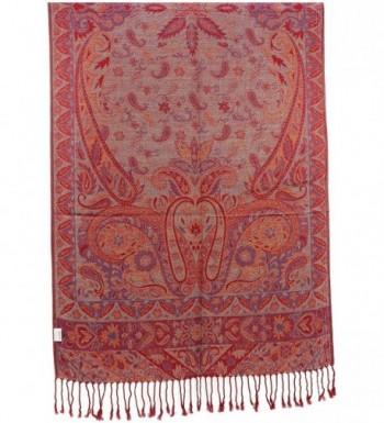 Kuldip Reversible Jamawar Pashmina 3000242 in Fashion Scarves