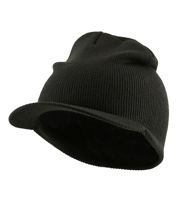 Cuffless Beanie Sports Visor-Charcoal W31S21E - CD111GHIZDH