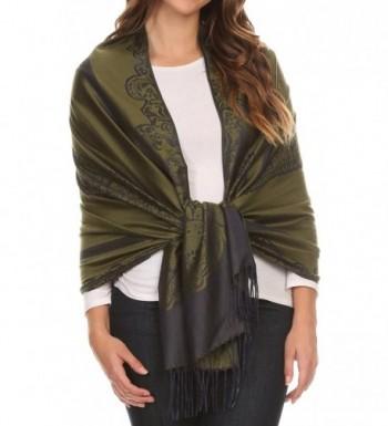 Sakkas 16116 Traditional Patterned Pashmina in Fashion Scarves