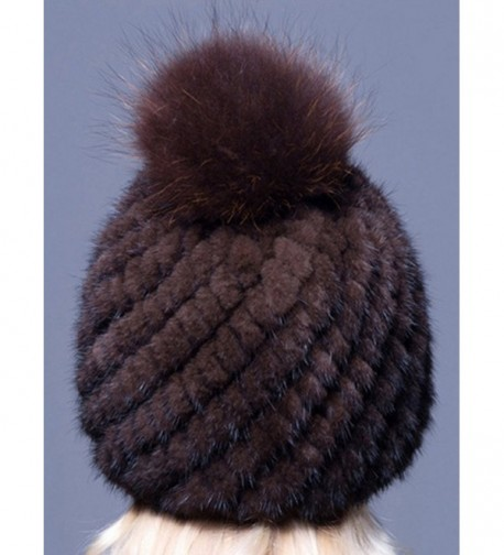 LITHER Winter Genuine Beanie Bonnet