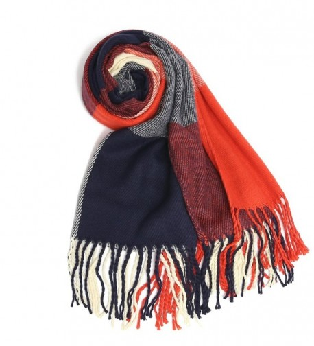 GoProver Tassels Lattice Blanket Oversized in Cold Weather Scarves & Wraps
