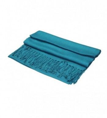 Achillea Large Silky Pashmina Colors in Fashion Scarves