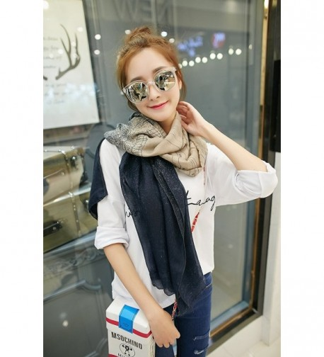 Aumy Lightweight Scarf Gradient Color in Fashion Scarves