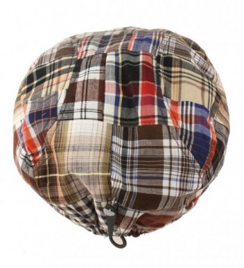 Summer Preppy Tartan Driving Hat