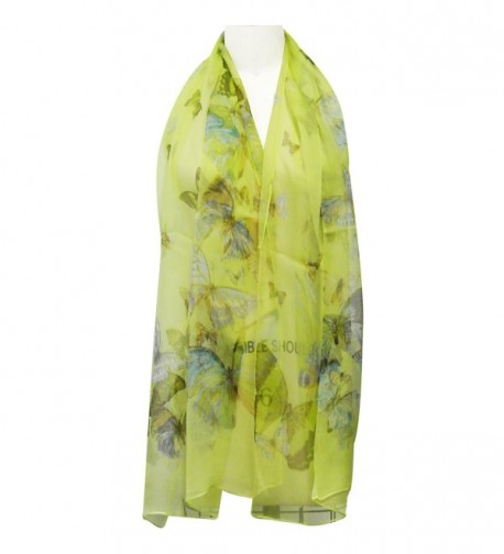 Wrapables Lightweight Butterfly Print Scarf